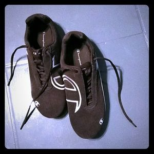 Brown Champion Sneakers